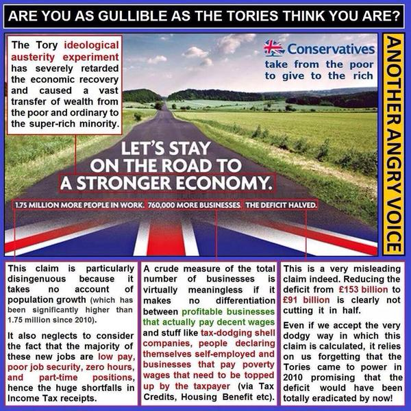 Policy Politics On Flipboard By Vox: When Will Labour Start Whacking Tories Over Their Economic